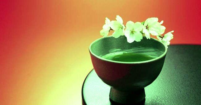 Зеленый чай - отличное средство для похудения