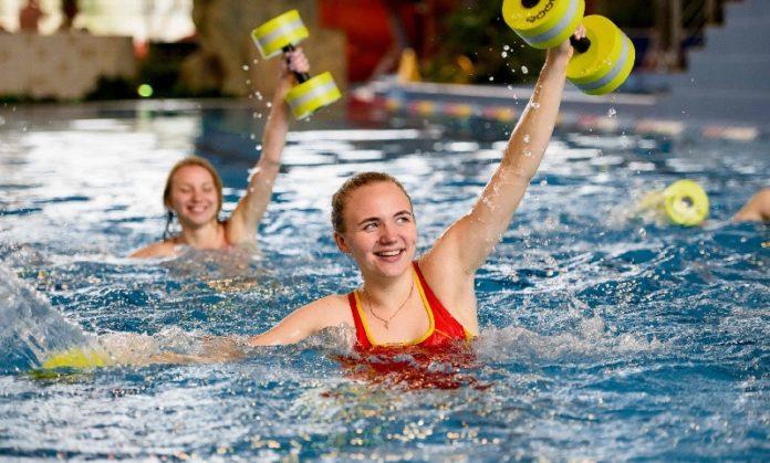 Аквааэробика - водная гимнастика для похудения