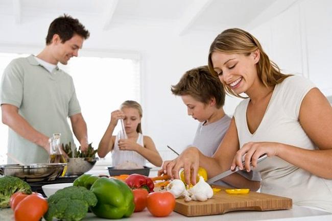 Как совместить семью и диету